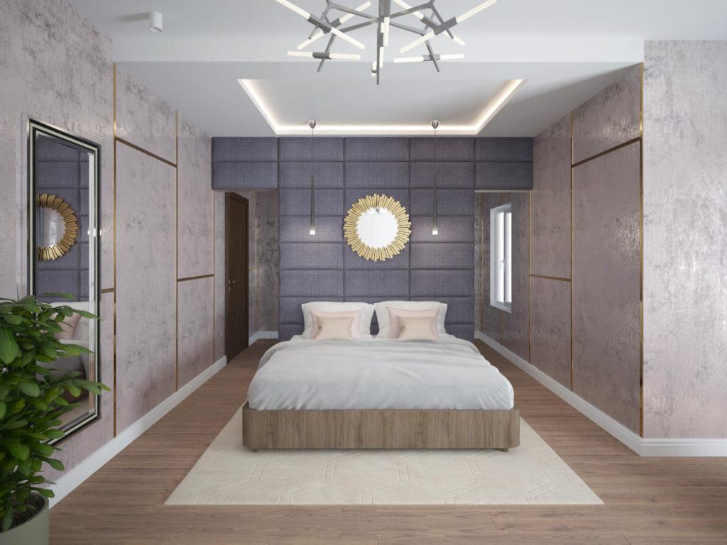 Дизайн интерьера частного дома в пос. Изумрудный